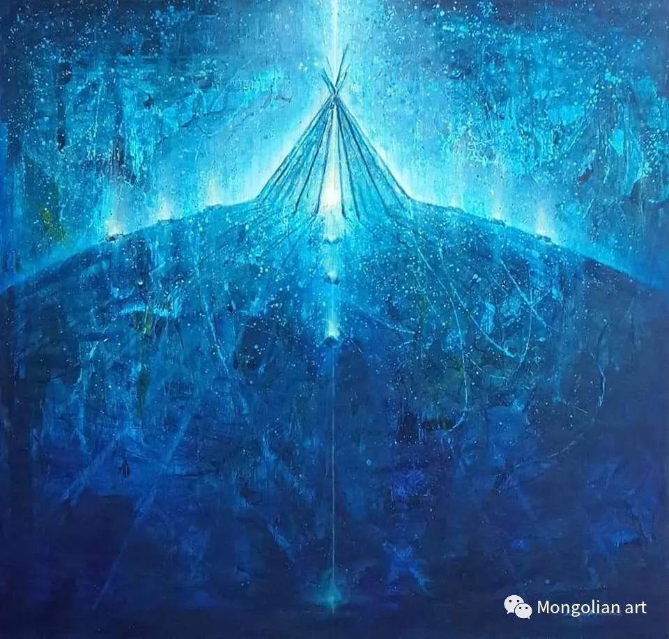 蒙古国美术家协会会员画家Б.Содномдаржаа 第9张 蒙古国美术家协会会员画家Б.Содномдаржаа 蒙古画廊