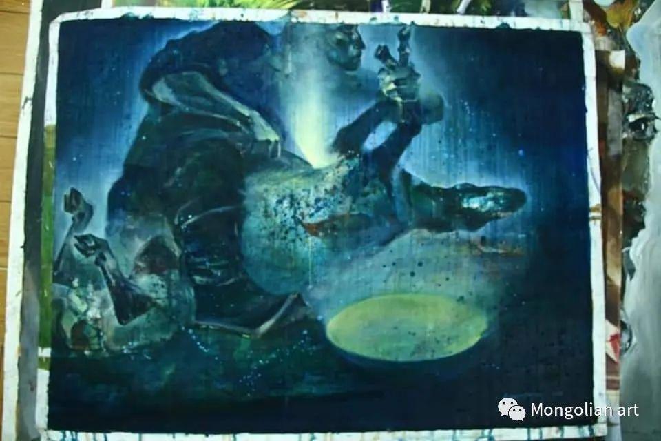 蒙古国美术家协会会员画家Б.Содномдаржаа 第10张 蒙古国美术家协会会员画家Б.Содномдаржаа 蒙古画廊