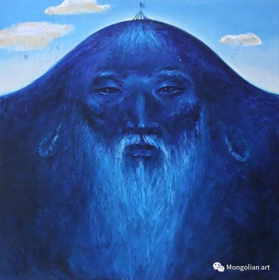 蒙古国美术家协会会员画家Б.Содномдаржаа 第12张 蒙古国美术家协会会员画家Б.Содномдаржаа 蒙古画廊