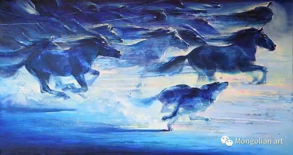 蒙古国美术家协会会员画家Б.Содномдаржаа 第11张 蒙古国美术家协会会员画家Б.Содномдаржаа 蒙古画廊