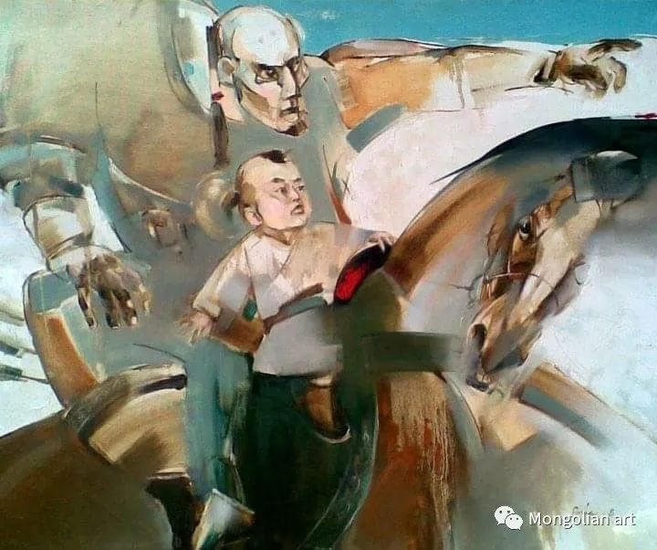 蒙古国美术家协会会员画家Б.Содномдаржаа 第13张 蒙古国美术家协会会员画家Б.Содномдаржаа 蒙古画廊