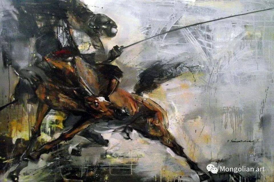 蒙古国美术家协会会员画家Б.Содномдаржаа 第17张 蒙古国美术家协会会员画家Б.Содномдаржаа 蒙古画廊