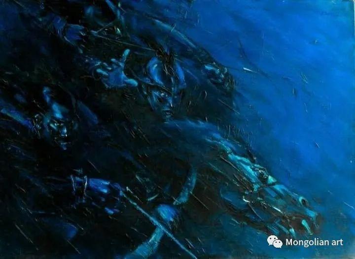 蒙古国美术家协会会员画家Б.Содномдаржаа 第16张 蒙古国美术家协会会员画家Б.Содномдаржаа 蒙古画廊