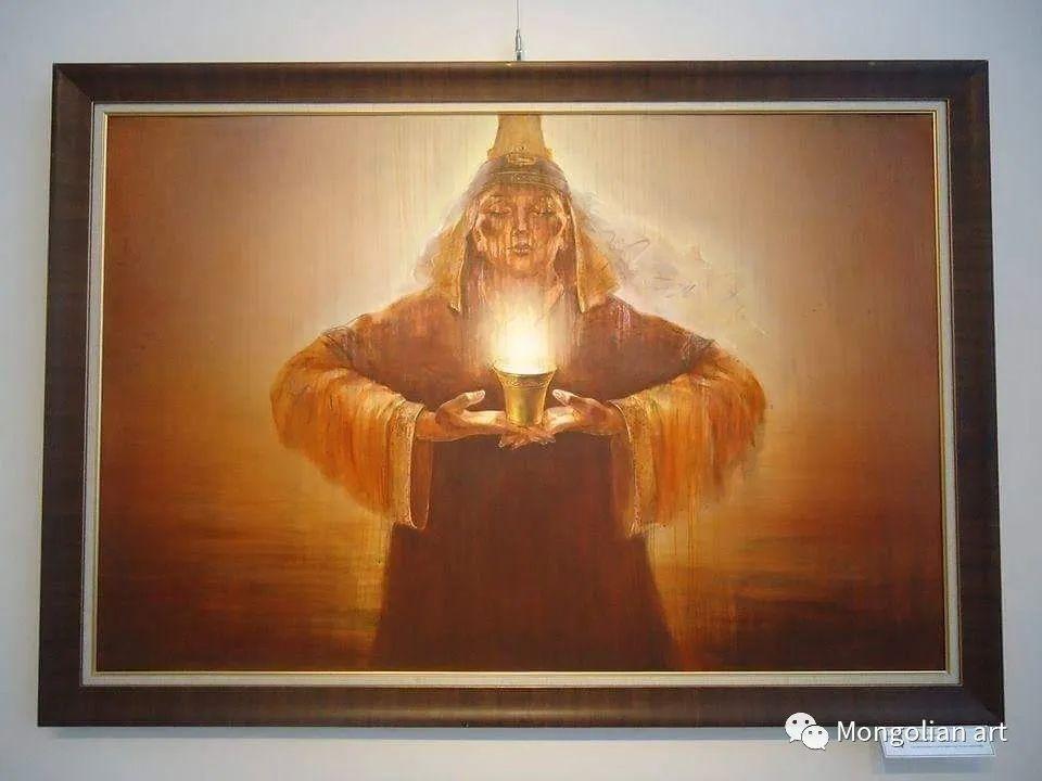 蒙古国美术家协会会员画家Б.Содномдаржаа 第20张 蒙古国美术家协会会员画家Б.Содномдаржаа 蒙古画廊