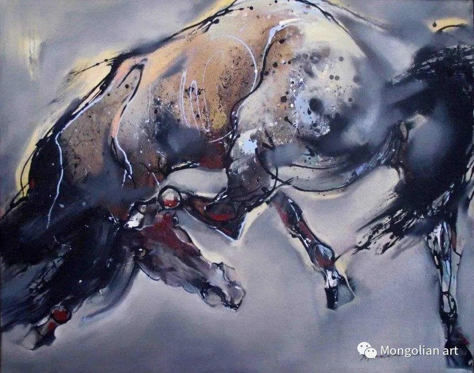 蒙古国美术家协会会员画家Б.Содномдаржаа 第18张 蒙古国美术家协会会员画家Б.Содномдаржаа 蒙古画廊