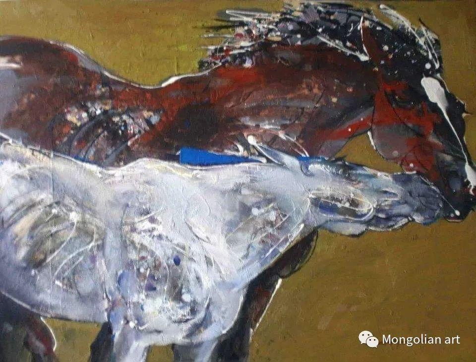 蒙古国美术家协会会员画家Б.Содномдаржаа 第19张 蒙古国美术家协会会员画家Б.Содномдаржаа 蒙古画廊