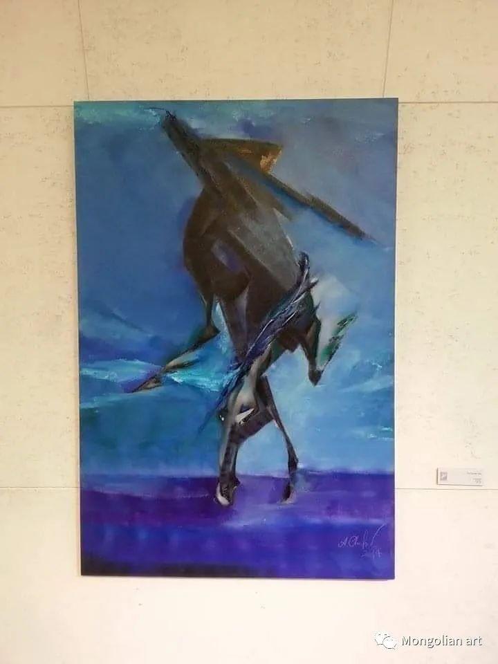 蒙古国美术家协会获奖艺术家,画家,雕塑家Adyaabazar Chadraabal 第28张