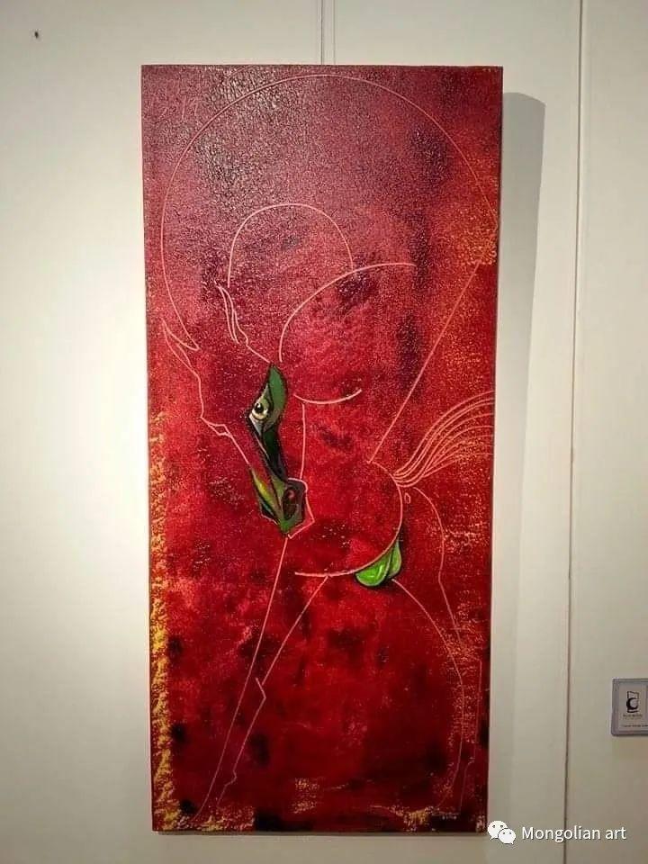蒙古国美术家协会获奖艺术家,画家,雕塑家Adyaabazar Chadraabal 第33张
