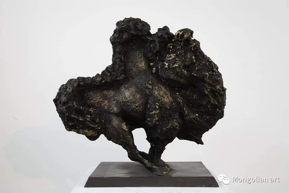蒙古国美术家协会获奖艺术家,画家,雕塑家Adyaabazar Chadraabal 第50张