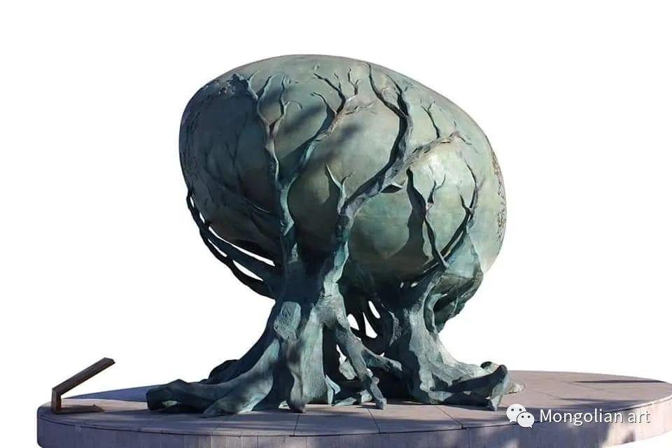 蒙古国美术家协会获奖艺术家,画家,雕塑家Adyaabazar Chadraabal 第52张