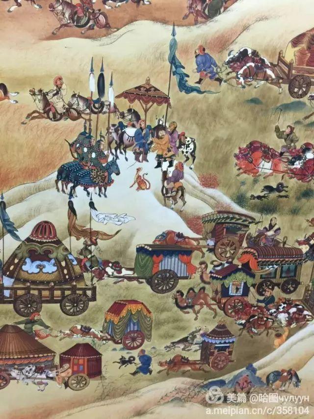 【文艺】蒙古国90后天才画家普日布苏仁作品欣赏(组图) 第9张