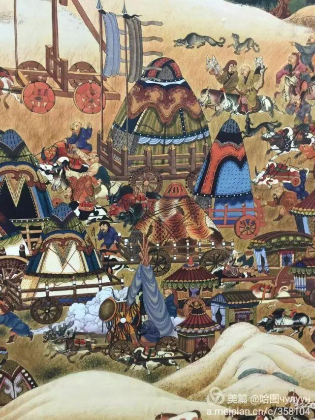 【文艺】蒙古国90后天才画家普日布苏仁作品欣赏(组图) 第11张