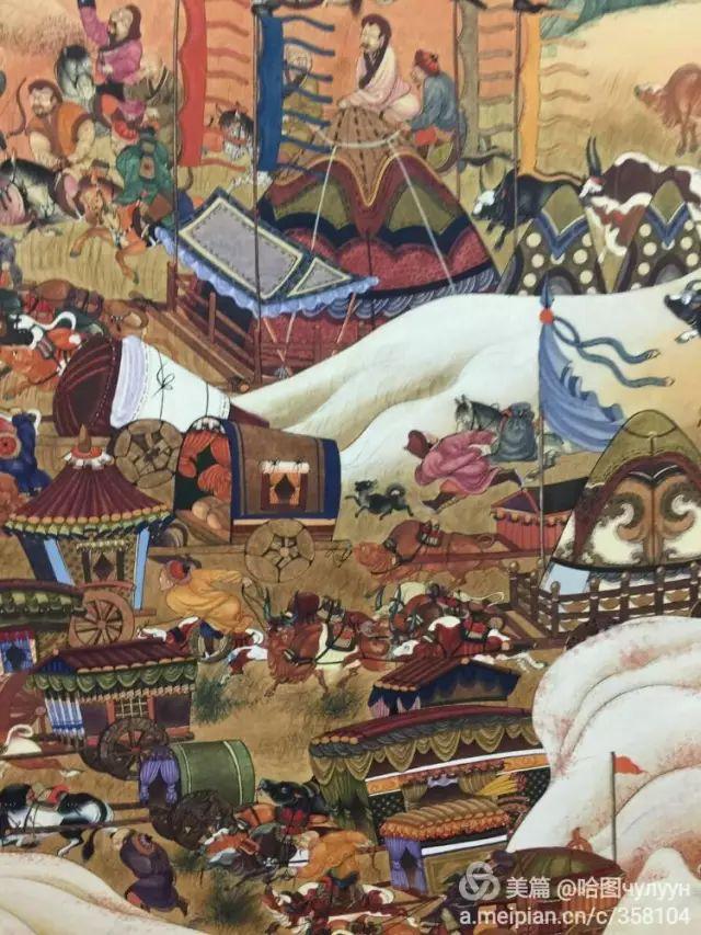 【文艺】蒙古国90后天才画家普日布苏仁作品欣赏(组图) 第13张