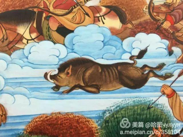 【文艺】蒙古国90后天才画家普日布苏仁作品欣赏(组图) 第47张
