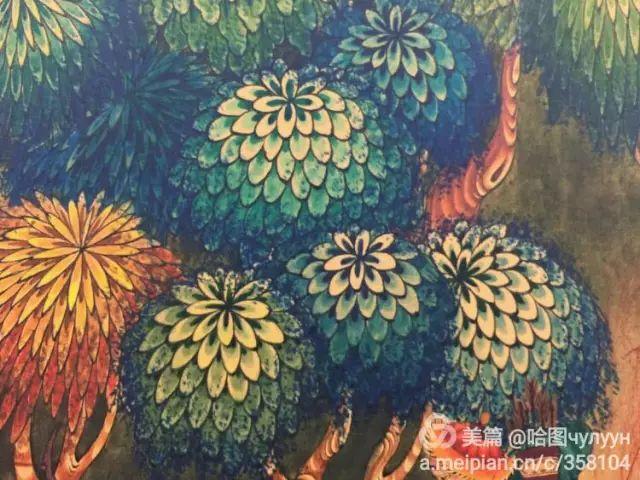 【文艺】蒙古国90后天才画家普日布苏仁作品欣赏(组图) 第51张