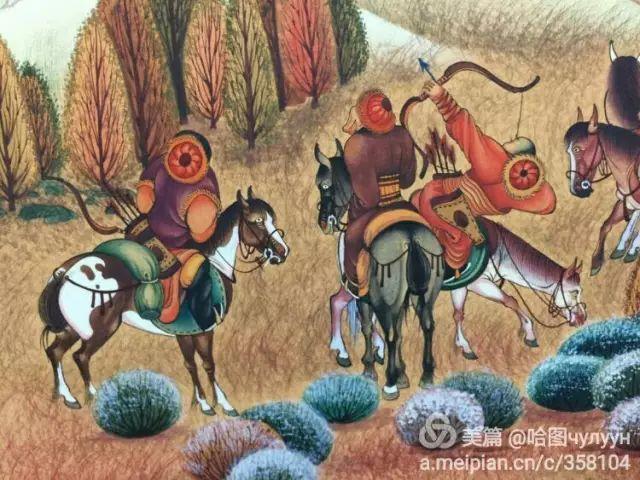 【文艺】蒙古国90后天才画家普日布苏仁作品欣赏(组图) 第50张