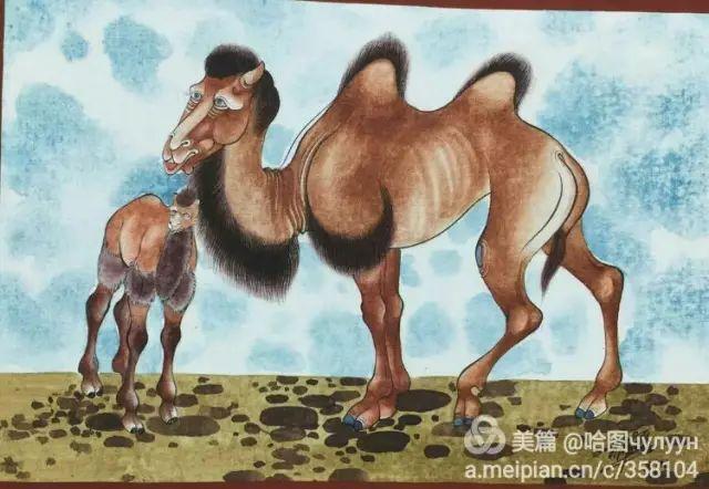 【文艺】蒙古国90后天才画家普日布苏仁作品欣赏(组图) 第58张