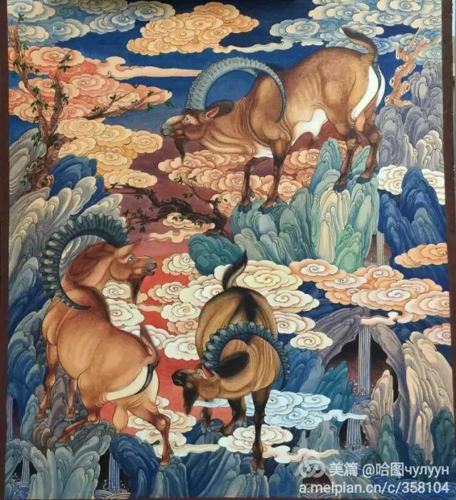 【文艺】蒙古国90后天才画家普日布苏仁作品欣赏(组图) 第61张