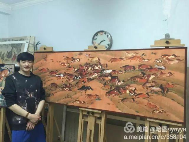 【文艺】蒙古国90后天才画家普日布苏仁作品欣赏(组图) 第63张
