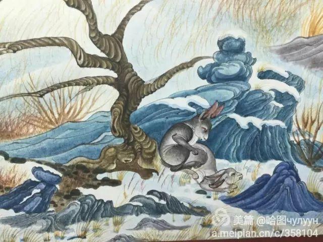 【文艺】蒙古国90后天才画家普日布苏仁作品欣赏(组图) 第71张