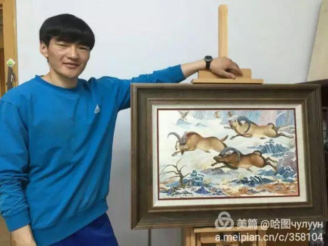 【文艺】蒙古国90后天才画家普日布苏仁作品欣赏(组图) 第69张