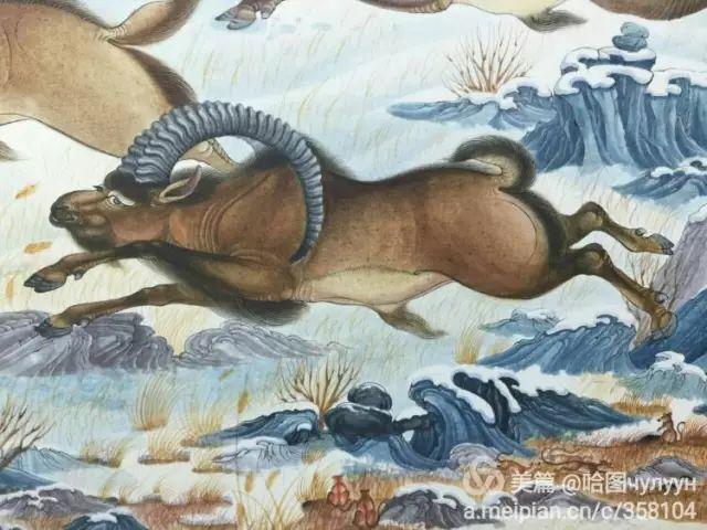 【文艺】蒙古国90后天才画家普日布苏仁作品欣赏(组图) 第68张