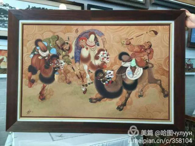 【文艺】蒙古国90后天才画家普日布苏仁作品欣赏(组图) 第77张