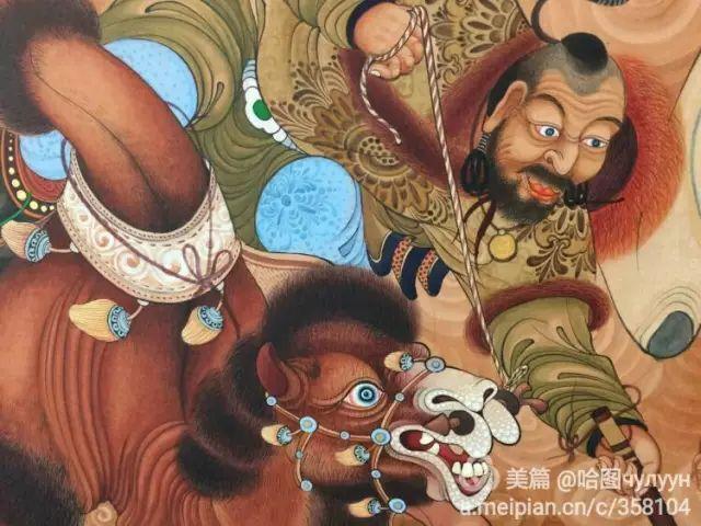 【文艺】蒙古国90后天才画家普日布苏仁作品欣赏(组图) 第81张