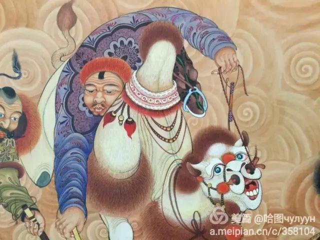 【文艺】蒙古国90后天才画家普日布苏仁作品欣赏(组图) 第79张