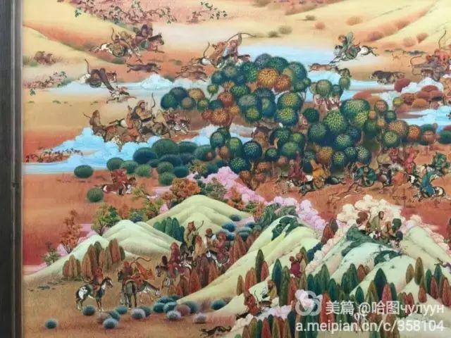 【文艺】蒙古国90后天才画家普日布苏仁作品欣赏(组图) 第86张