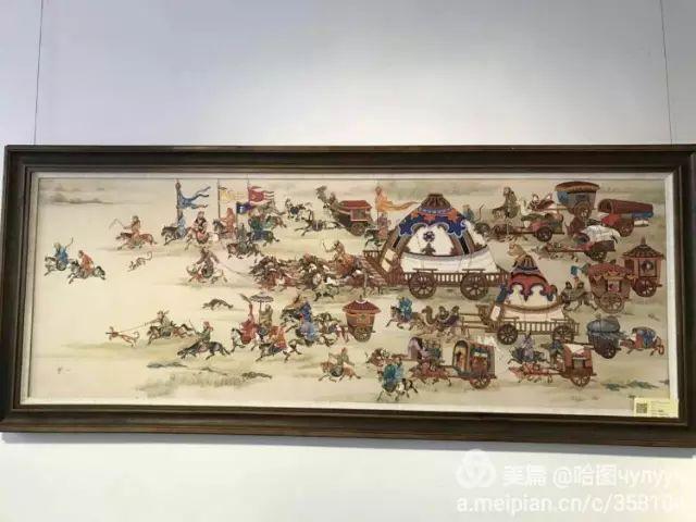 【文艺】蒙古国90后天才画家普日布苏仁作品欣赏(组图) 第91张