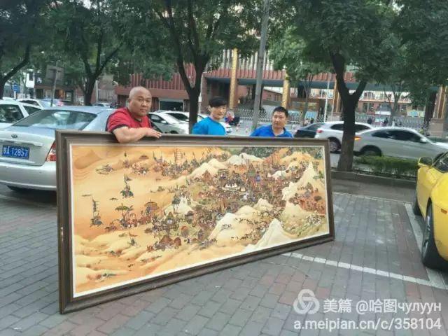 【文艺】蒙古国90后天才画家普日布苏仁作品欣赏(组图) 第89张