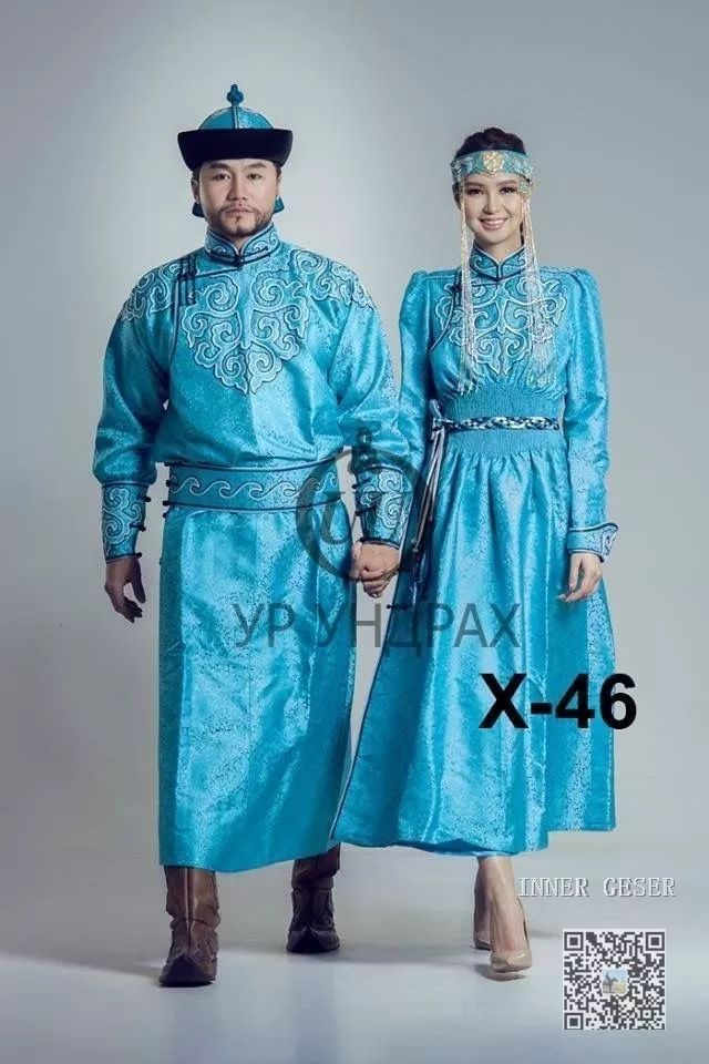 УР УНДРАХ和GO-GO clothing作品 第5张 УР УНДРАХ和GO-GO clothing作品 蒙古服饰