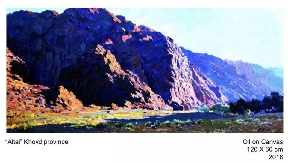 蒙古国画家 Bolor Chinbayar作品欣赏 第2张 蒙古国画家 Bolor Chinbayar作品欣赏 蒙古画廊