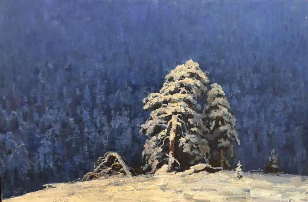 蒙古国画家 Bolor Chinbayar作品欣赏 第3张