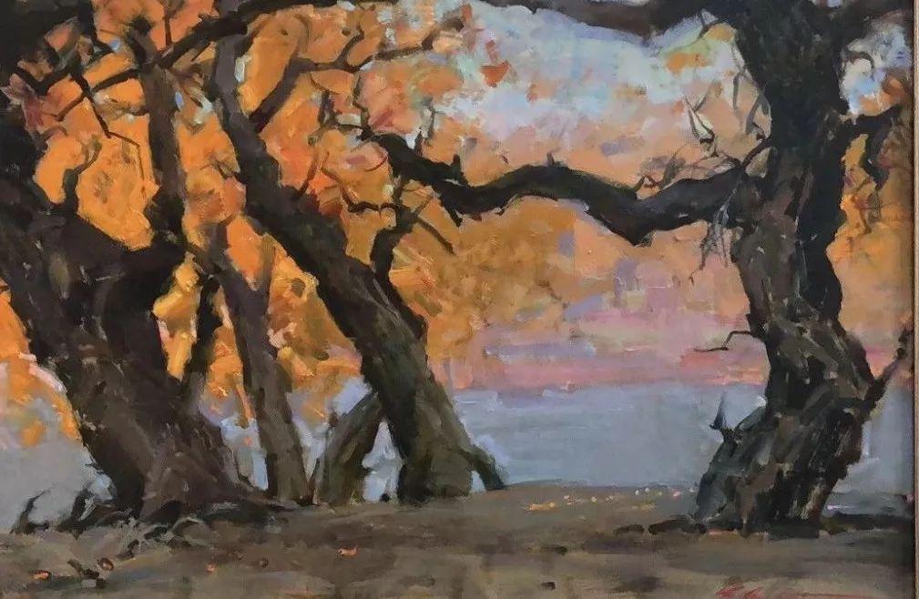 蒙古国画家 Bolor Chinbayar作品欣赏 第4张 蒙古国画家 Bolor Chinbayar作品欣赏 蒙古画廊