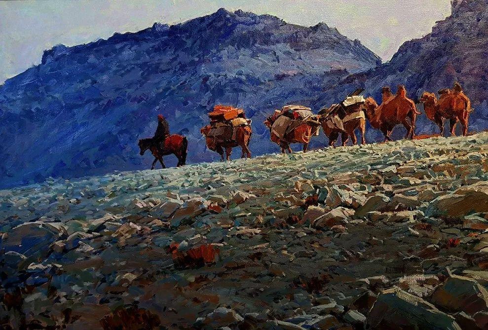 蒙古国画家 Bolor Chinbayar作品欣赏 第6张