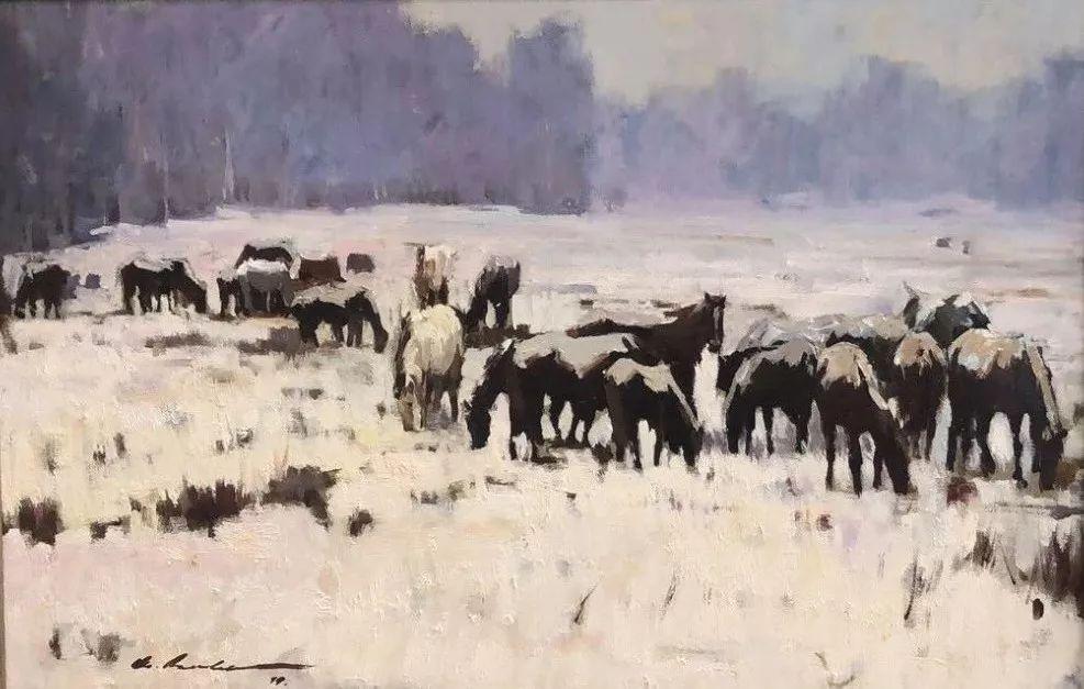 蒙古国画家 Bolor Chinbayar作品欣赏 第5张