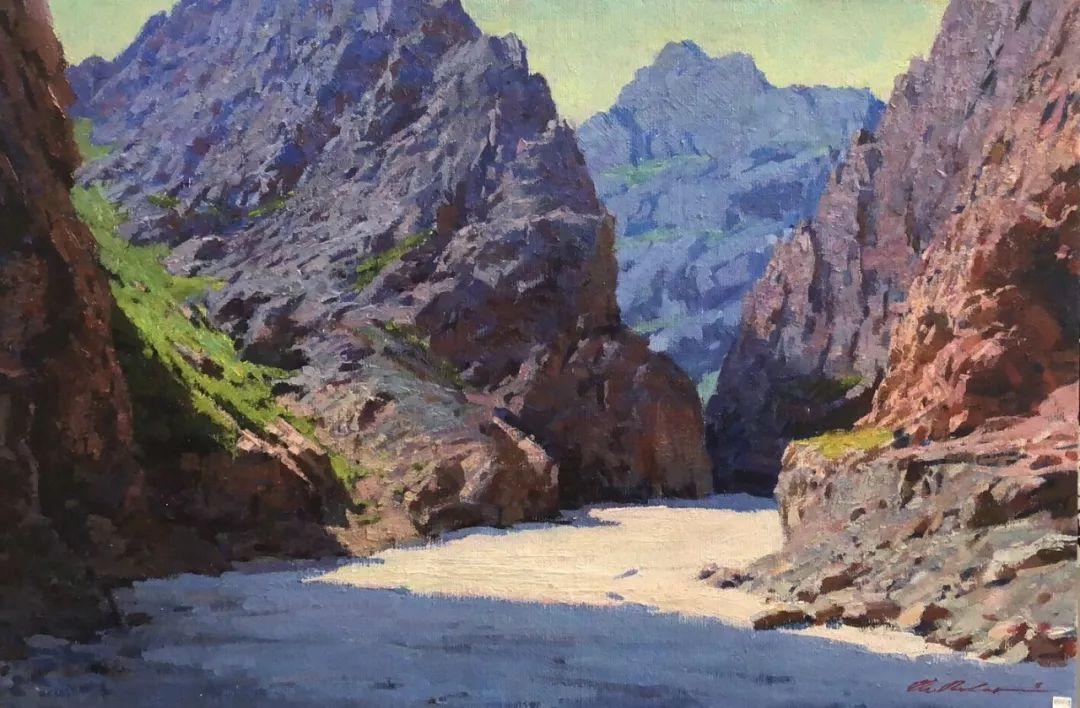 蒙古国画家 Bolor Chinbayar作品欣赏 第8张