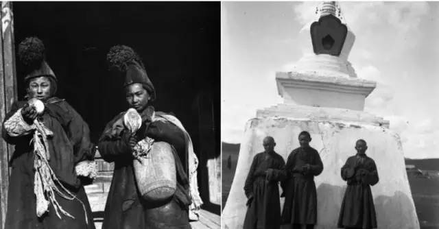 100多年前的蒙古罕见视频资料(文字 图片) 第16张