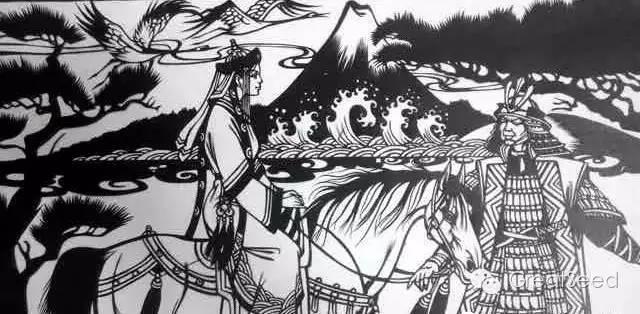 剪纸大师巴特尔朝格蒙古风作品欣赏 第10张 剪纸大师巴特尔朝格蒙古风作品欣赏 蒙古画廊