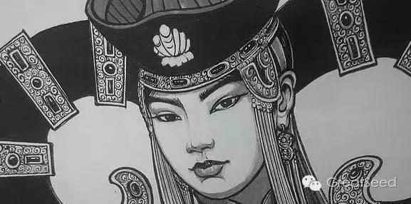 剪纸大师巴特尔朝格蒙古风作品欣赏 第18张 剪纸大师巴特尔朝格蒙古风作品欣赏 蒙古画廊