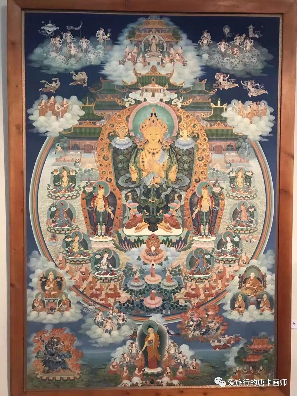 蒙古国唐卡艺术绘画欣赏 第2张 蒙古国唐卡艺术绘画欣赏 蒙古画廊