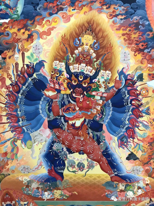 蒙古国唐卡艺术绘画欣赏 第4张 蒙古国唐卡艺术绘画欣赏 蒙古画廊