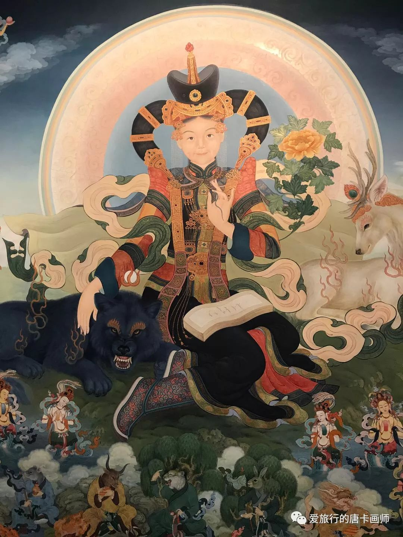 蒙古国唐卡艺术绘画欣赏 第5张 蒙古国唐卡艺术绘画欣赏 蒙古画廊