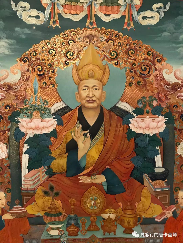 蒙古国唐卡艺术绘画欣赏 第9张 蒙古国唐卡艺术绘画欣赏 蒙古画廊