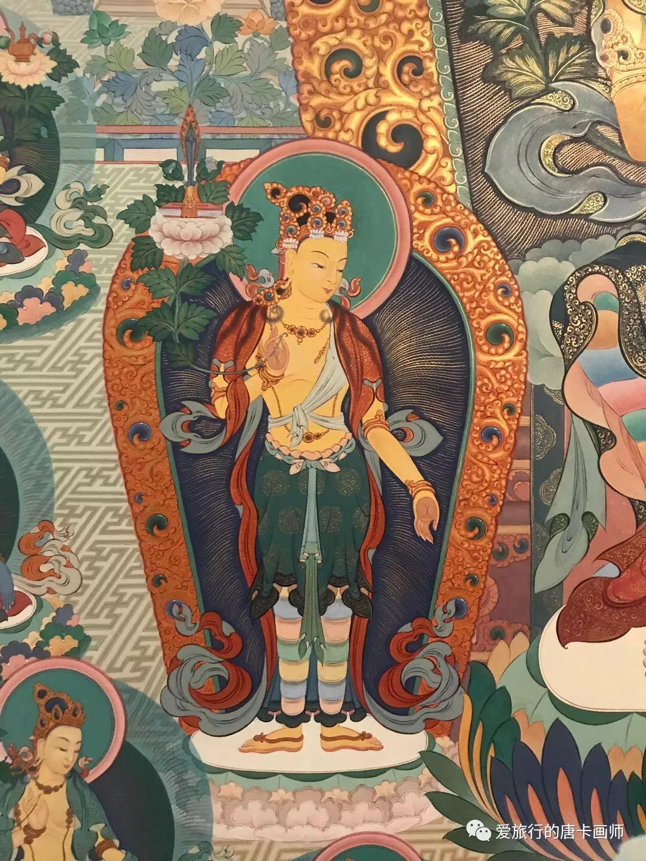 蒙古国唐卡艺术绘画欣赏 第11张 蒙古国唐卡艺术绘画欣赏 蒙古画廊