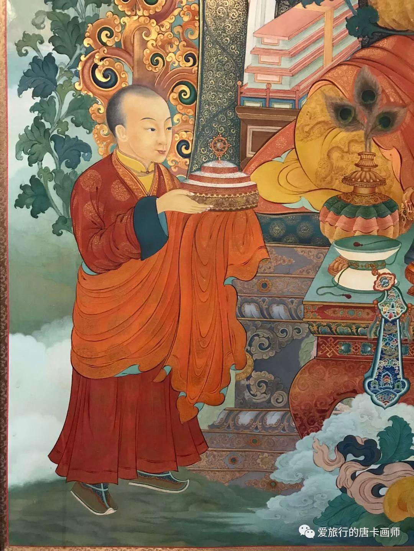 蒙古国唐卡艺术绘画欣赏 第13张 蒙古国唐卡艺术绘画欣赏 蒙古画廊