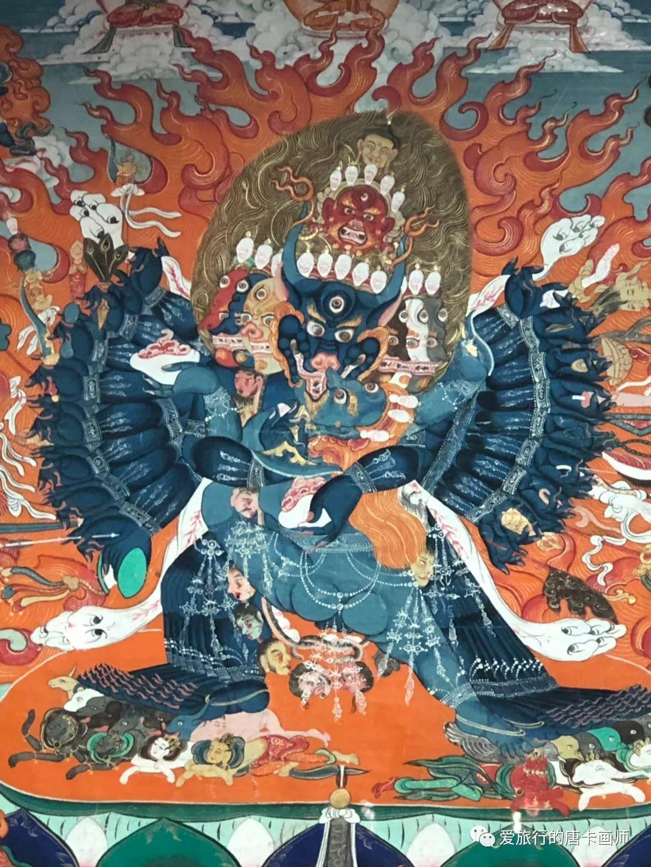 蒙古国唐卡艺术绘画欣赏 第21张 蒙古国唐卡艺术绘画欣赏 蒙古画廊