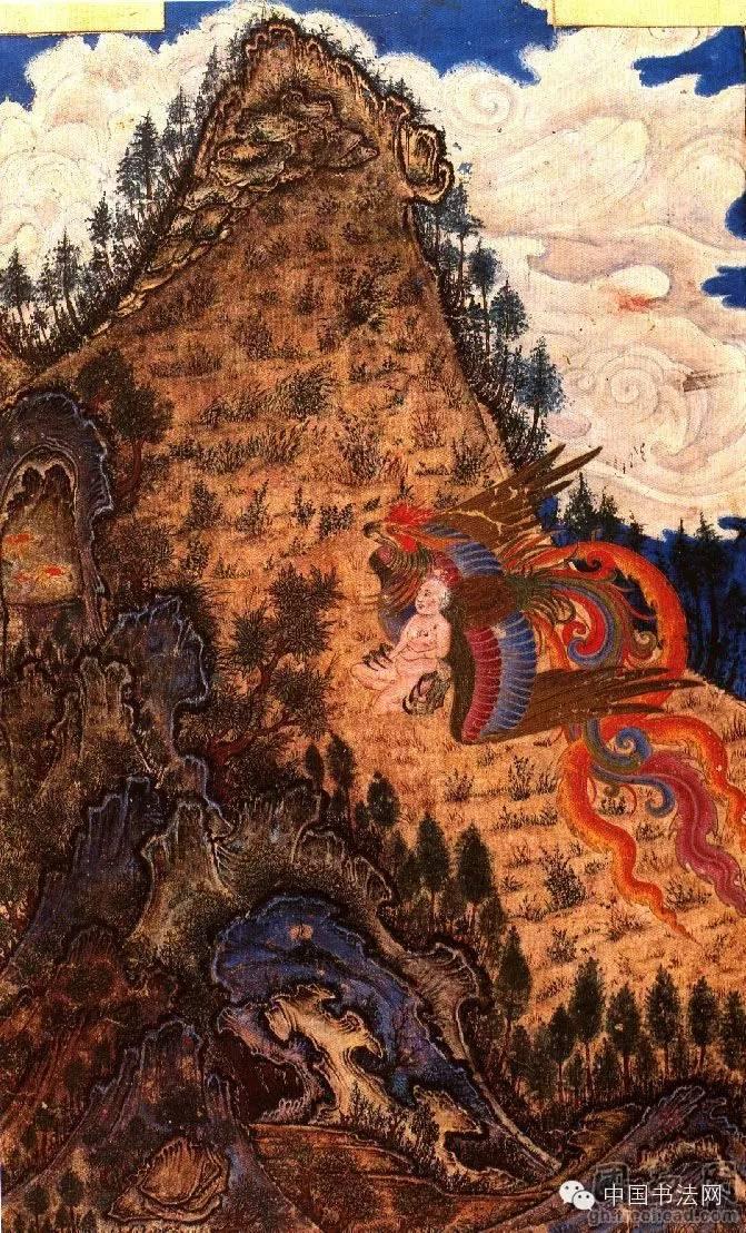 苍狼白鹿——看元代蒙古人的绘画作品 第3张 苍狼白鹿——看元代蒙古人的绘画作品 蒙古画廊